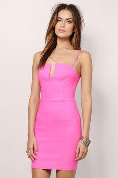 Feelin Flirty Bodycon Dress at Tobi.com #shoptobi