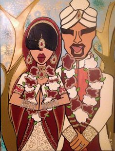 Unique and Custom Wedding Portraits by twiggyoriginals on Etsy  Trumbo Wedding 2013