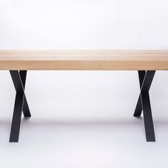 Check this out: Wood & Steel Tables by 5mm.studio. https://re.dwnld.me/CsQ2-wood-and-steel-tables-by-5mm-studio