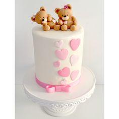 Sweet Teddy Bear Cake