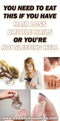 YOU NEED TO EAT THIS IF YOU HAVE HAIR LOSS, BRITTLE NAILS OR YOU'RE NOT SLEEPING WELL