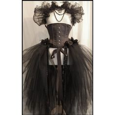 Untitled ❤ liked on Polyvore featuring dresses, corsets, gothic and steampunk