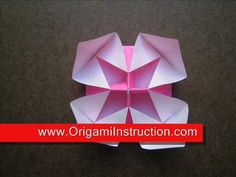 How to Make an Origami Peony Flower