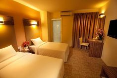 Hotel Sentral Kuantan - Deluxe Twin Room | Follow us: https://www.facebook.com/HotelSentralKuantan
