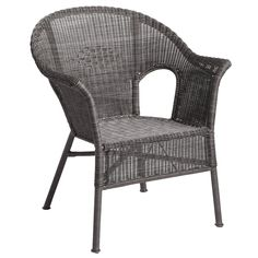 Casbah Stacking Chair - Gray | Pier 1 Imports