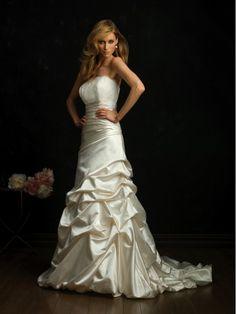 Vestido de Noiva Cetim-Rücken Tafetá