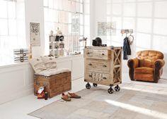 Möbel mit Schablonen-Print im Industriestil #loberon