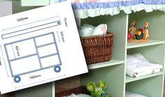 Nursery Trolley   DIY   The Home Channel