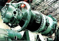 the lunar space capsule Soyuz 7K-L3 that was to be carried aloft by the N-1 L-3