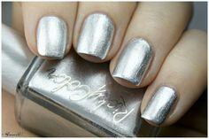 RickyCity 'Bridge & Tunnel' metallic nail polish. Swatch by Glamorable.com. #nails #nailpolish #silver #metals #metallic #nailart #fashion #beauty #RickysNYC #RickyColor #NYC #NewYork #NewYorkCity #pretty