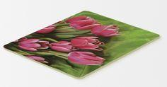 Pink Tulips Kitchen or Bath Mat 20x30 APH5048CMT