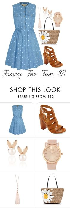 """""""Fancy For Fun 88"""" by megan-walz21 ❤ liked on Polyvore featuring Yumi, Bamboo, Aamaya by priyanka, Oasis and Kate Spade"""