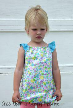 peasant dress flutter sleeve