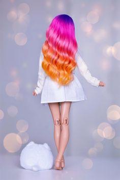 (4arllin) Tags: ta bjd minifee mnf celine doll alpaca wig fairyland moe tan 4arllin