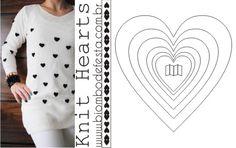 Casaco Heart Blouse - www.biombodefesta.com.br <3 É muito amor!