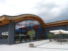 Bodega en Montalcino. Wine cellar in Montalcino