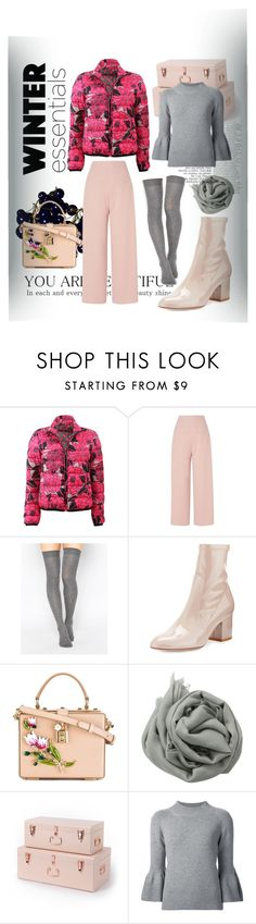 """""""Perfect Puffer Jackets"""" by frnkly ❤ liked on Polyvore featuring Etro, L.K.Bennett, ASOS, Valentino, Dolce&Gabbana, Brunello Cucinelli and Carolina Herrera"""