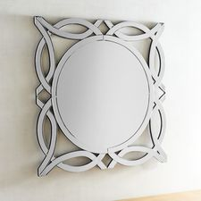 """Jacques 32"""" Round Mirror"""