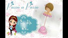 Porta Biju Diva de Biscuit - Passo a Passo - DIY - Bia Cravol