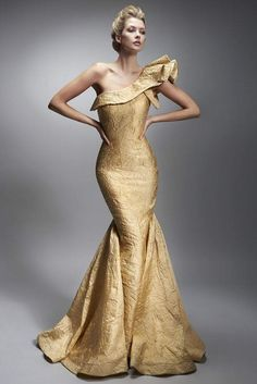 A dress for a queen. Be the center of attention with this Nicole Bakti One Shoulder Ruffle Long Dress from the 2019 Spring Collection Ships Within Business Days Long Mermaid Dress, Mermaid Dresses, Gala Dresses, Dressy Dresses, Prom Boutiques, Simple Prom Dress, Fantasy Dress, Dress First, Dress Collection