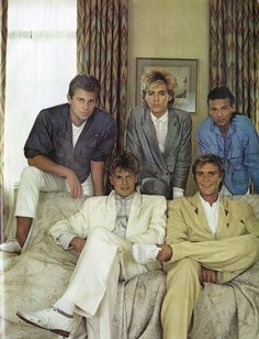 Baby-faced DURAN DURAN, 1983 Smash Hits