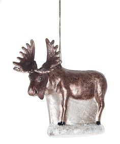 Look at this Moose Ornament on #zulily today!