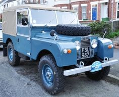 Alan's 1958 Land Rover Series I