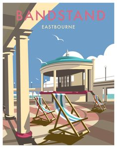 The British Coastline by Dave Thompson, via Behance
