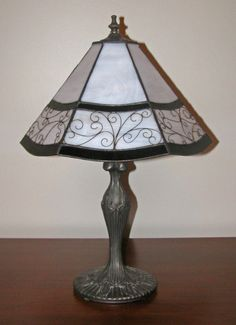 Black and White Filigree Stained Glass by ColorBetweenTheLines, $200.00