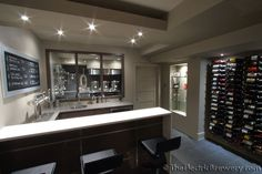 Show me pics of your dedicated brewing rooms! - Page 5 - Home Brew Forums