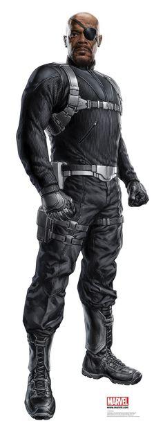 The Avengers: Nick Fury Marvel Dc Comics, Hq Marvel, Marvel Heroes, Nick Fury Marvel, Marvel Images, Mundo Marvel, The Avengers, Marvel Characters, Marvel Movies