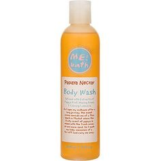 ME! Bath Body Wash-Papaya Nectar-8 oz. by ME! Bath. $18.00. Formulated with extracts of papaya fruit, arnica and calendula. Richly lathering texture. Boosts skin health with natural ingredients. Papaya Nectar features the scent of fresh, juicy papaya. Gently yet thoroughly cleanses the skin. ME! Bath Body Wash is formulated to gently cleanse your skin, leaving it soft, silky, and lusciously scented. Each lathering gel was inspired by the scents of the tropics and is infused w...