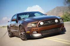 Ford Mustang 5.0 muscle Shelby GT500 Supersnake