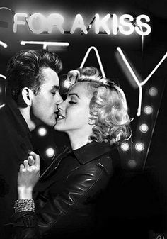 Marilyn and James Dean