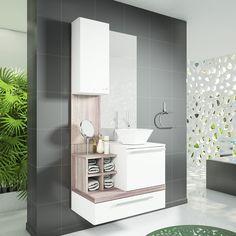 Tá na dúvida em como fazer seu banheiro? Dê uma olhadinha nos nossos conjuntos! Se inspire!