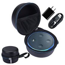 Type: Bumper Function: Anti-knock Retail Package: No Compatible Brand: Other Material: PU+EVA Alexa Dot, Bluetooth, Geek Gadgets, Alexa Voice, Covered Boxes, Pouch Bag, Amazon Echo, Bag Storage, Ebay