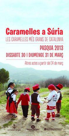 Per #Pasqua us convidem a les #caramelles més grans de #Catalunya, a Súria    #turistesdequalitat #tdq