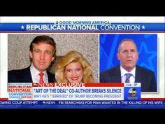 """Art of the Deal"" ghostwriter terrified of a Trump presidency  - Good Mo..."