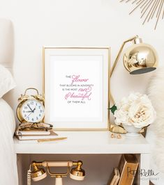 Disney Inspired Motivational Print - Classy Clutter