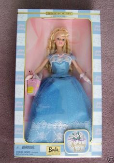 3ddf6f7d01d Barbie Birthday Wishes NIB 2000 Collector Edition Birthday Wishes Barbie