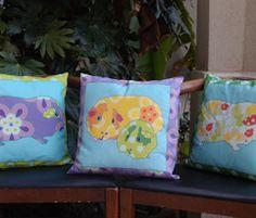 Loads of Ideas - Shown: Guinea Pig pillows  -  http://www.spoonflower.com