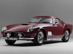 1956 Ferrari 250 GT Tour de France was Ferrari's mid sports racing cars. Lamborghini, Maserati, Ferrari Car, Bugatti, Classic Sports Cars, Luxury Sports Cars, Classic Cars, Sexy Cars, Hot Cars