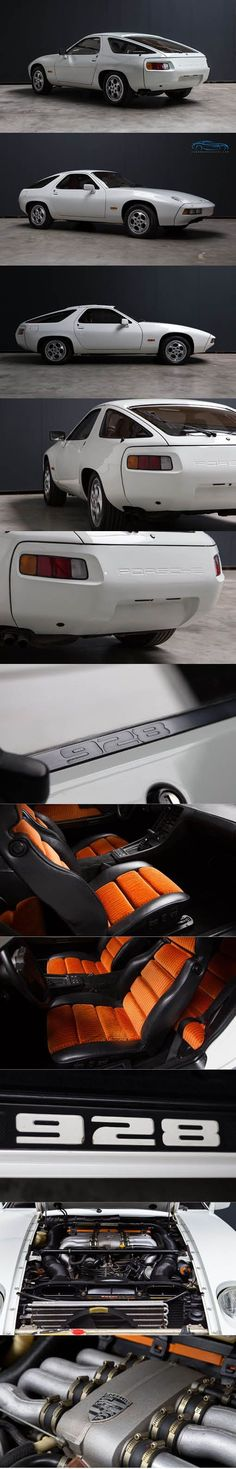 1979 Porsche 928 / Germany / white orange / km Euro Carwold Classics - https://www.luxury.guugles.com/1979-porsche-928-germany-white-orange-km-euro-carwold-classics/
