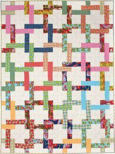 Pretzel Twist - Throw Quilt Patterns