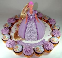 Are you looking for Tangled Rapunzel birthday cake and cupcake decoration ideas? If so you are at the right place. Your little girl will be over...