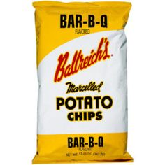 I'm learning all about Ballreich's Bar-b-q Flavored Marcelled Potato Chips at @Influenster!