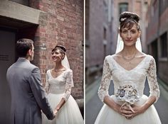 Classic and Chic Vintage Australian Wedding: Marina + Andy