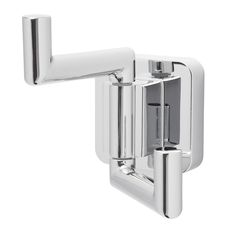 Speakman Kubos Polished Chrome Towel Hook at Lowe's. Featuring a modest, yet brilliantly minimalistic frame – the Speakman Kubos Double Robe Hook was organically designed to make a modern Bathroom Towel Hooks, Bathroom Hardware, Do It Yourself Home, Lowes Home Improvements, Elegant Homes, Bathroom Accessories, Polished Chrome, Solid Brass, Wall Mount