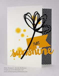 8 Terrific Stampin' Up! Sunshine Wishes Bundle Swap Samples