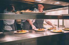 Hyde Barn Wedding Photography - Food Prep